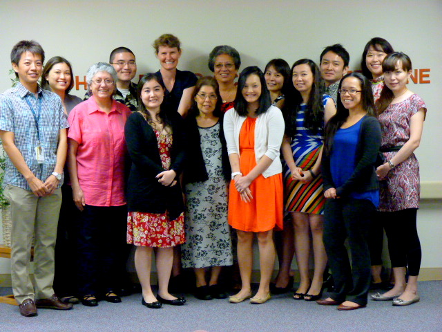 photo of current geriatric medicine fellows, program administration