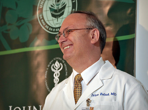 Ivica Zalud MD PhD named Physician of the Year 2017