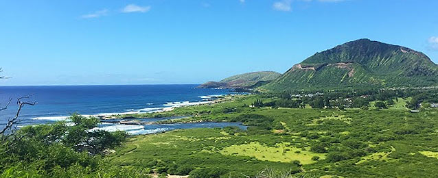 Oahu East Shore Coastline